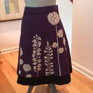 Anthroplolgie Lithe Skirt Size 6